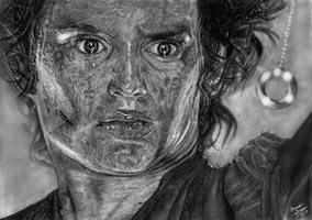 Frodo and the One Ring by EduardoLeon