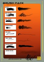 Ashley Riot 2014 Brush Pack by JocelynAda