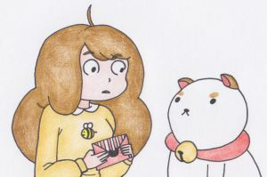 Bee and PuppyCat by sophiemai