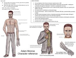 Adam Monroe - Reference sheet by Spacer176