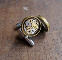 Cufflinks Model Twenty-Eight by AMechanicalMind