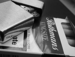 zippo and rothmans by ciorky