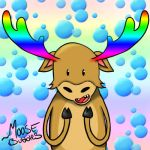 Moose Bubbles! by xPara