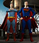 Superman and Superman by kirinranger