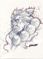 AKUMA  - SKETCH THEATRE by alvinlee