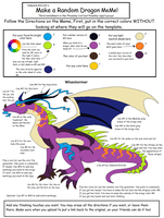 Wisestormer my dragon oc from a meme by Natalia-Clark