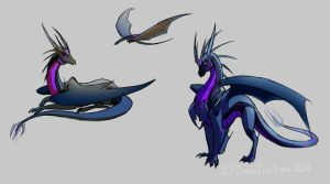 Dragonformers TFP Soundwave and Lazerbeak Concept by JazzTheTiger