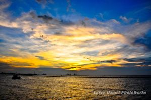 Dawn at ancol by kangledeng
