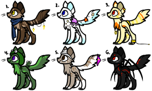Offer to Adopt Kitty Adoptables [CLOSED] by classydove