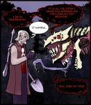 Death Vigil Fan Art:  Coffee breath by evoluzione