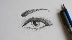 My dotted eye :D by manuelo-pro