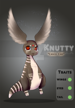 (closed) AUCTION - Knutty - Choco Chip by CherrysDesigns