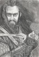 Thorin Oakenshield by Benedikte