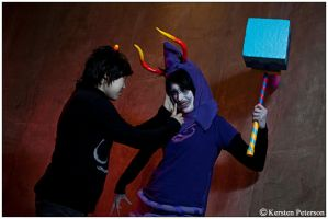 Homestuck: Shhh by CosplayerWithCamera