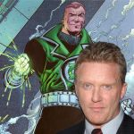 Anthony Michael Hall as Guy Gardner/Green Lantern by ParisNJones