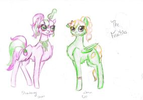 Adoptables : The fruties OPEN by starswirl11