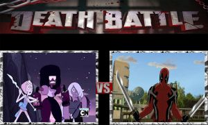Death Battle The Crystal Gems vs Deapool by jss2141