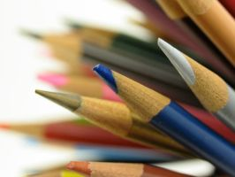 Stock - Pencil Crayon Series 3 by mystockphotos