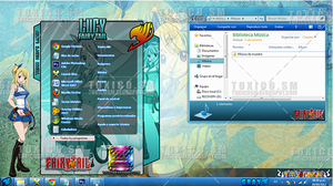 Theme Windows 7: LUCY by ToxicoSM