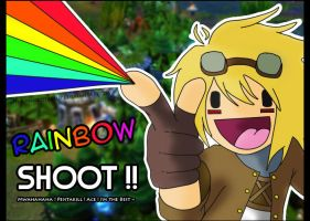 LoL - Rainbow Shoot Ezreal ! by ShiroTatsuKi