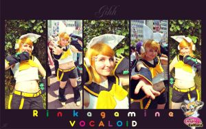 Rin Kagamine By Gihh by cosplayculture