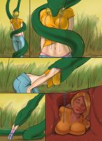 Kaa eats Emily by laptop456