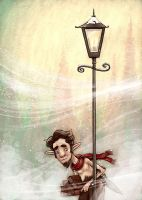 Mr. Tumnus by danidraws