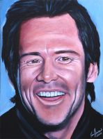 Jim Carrey by karlandrews