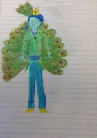 Prince Eden Sapphire of the Peacock Kingdom by finnfni
