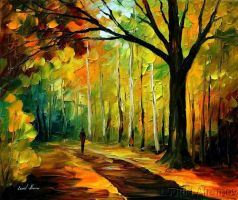 Afremov FALL  Original A by Leonidafremov