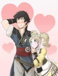 Lon'qu and Lissa for Valentines by SaBasse