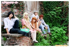 Honey and Clover-friends by Dan-Gyokuei