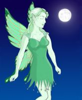 the green fairy by jennvt