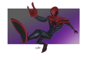 Superior Spidey by Yenga