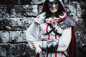 Assassin's Creed II fem!Ezio Auditore cosplay 11 by Ko-shi-patrick
