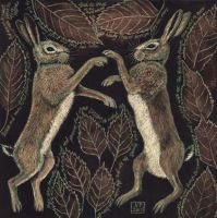 March Hares by Vikkki