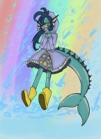 Happy rain day!- from Vaporeon-tan by SweetAbril