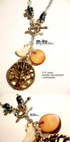wise tree necklace by MechaBerry