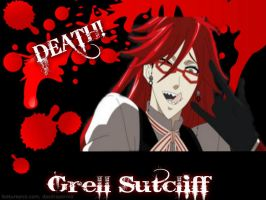 Grell Sutcliff by kayleyster