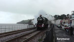 GWR 5043 'Earl of Mount Edgcumbe' at Dawlish by The-Transport-Guild