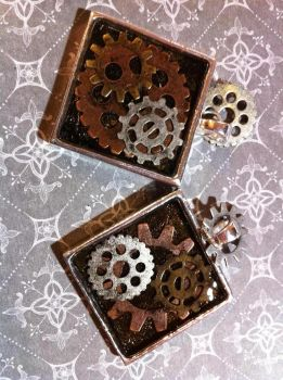 Steampunk Dreams Gears n Glass by orderly-chaos