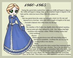 1860-1865 Fashion Card by lady-of-crow