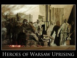 Heroes of Warsaw Uprising by bwanot