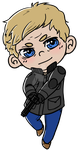 ChibiJohnWatson by 221bee