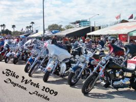 Bike Week 2009 by Sh4d0w-W01f