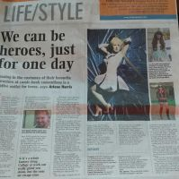 Cosplay in Irish Newspaper by Cairdiuil