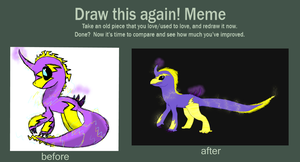 Draw This Again: I think this was a fakemon? by undead-feline