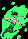 one piece  Zoro by sophapotter