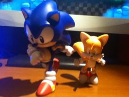 Sonic and Tails: Let's do it to do it by ClassicSonicSatAm