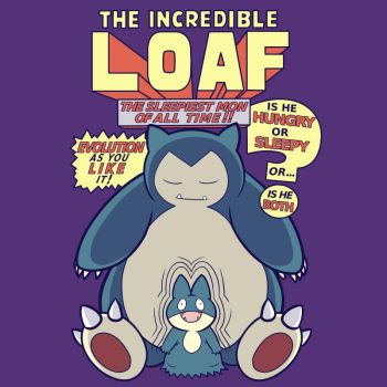 The Incredible Loaf (Shirt Design) by KindaCreative